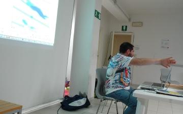 Momenti: aggiornamento istruttori e allenatori ad Arezzo gestito dal nostro Direttore Tecnico