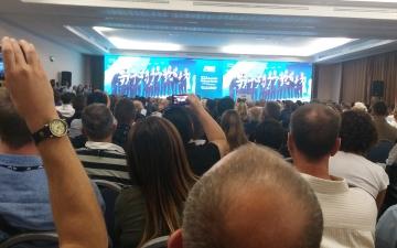 Momenti: cerimonia per medaglie olimpiche e elezioni F.I.N.